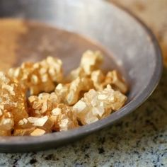 DIY Golden Nuggets Candy - Simple DIY for making lustrous, golden nuggets candy, perfect for a gold rush BBQ, golden anniversary, pirate party...