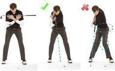 Top of Golf Swing Drill #1: This simple drill will show you if your shoulders are turning correctly through to the completion of the backswing. #GolfSwingingTips