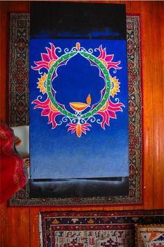 Diwali Rangoli for O2 on Behance