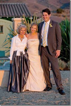 LOVE this mother-of-the-bride look! (skirt is silk taffeta)