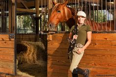 Andalusian Stallion and trainer Catherine MacAlister of Bogginfin Farm