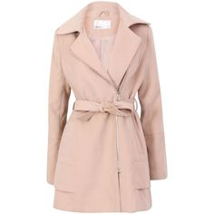 Lavand Winter zipped coat found on Polyvore
