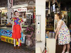Lil Buckeroo ♥s Manri Kishimoto   Mannine S/S 15 print pattern