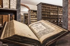 A #Luther #Bible in the library of the Francke Foundations