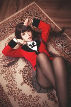Yumeko Jabami from Kakegurui cosplay,so amazing. Cosplay Anime, Kawaii Cosplay, Cute Cosplay, Amazing Cosplay, Cosplay Outfits, Best Cosplay, Cosplay Girls, Cosplay Costumes, Japonese Girl