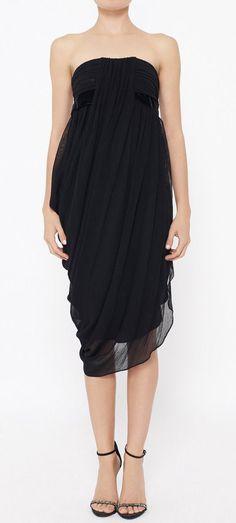 Rachel Roy Black Dress. Love this, but wish it would be longer