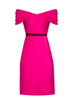 Emilio De La Morena Olga bi-colour silk-blend dress