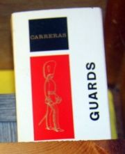 Guards cigarettes