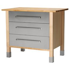 IKEA Freestanding unit is easy to install and move. Adjustable legs; stands steady on uneven surfaces.
