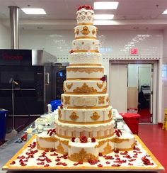 One of our tallest creations! #carlosbakery