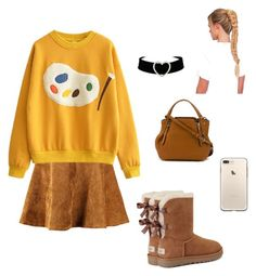 """""""♢♢"""" by song-v on Polyvore featuring UGG and Burberry"""