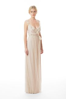 Lacey Long Lace, by Joanna August....Lovely sensual romantic bridesmaid dress this would be my 1st choice!!