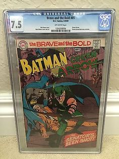 #Brave and the bold #85 cgc 7.5 vf- new green #arrow costume (id #6537),  View more on the LINK: 	http://www.zeppy.io/product/gb/2/172001953084/