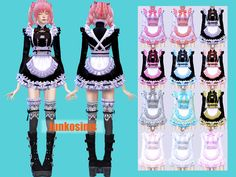 Short Trapeze Dress _ Trapeze Mini Dress the sims 4 _ - Clove share Asia Sims 4 Game Mods, Sims Mods, Sims 4 Mods Clothes, Sims 4 Clothing, Sims 4 Cas, Sims Cc, Play Sims 4, Sims 4 Anime, Sims 4 Collections