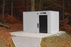 Outdoor toilet for public spaces 704 EUROmodul Ltd