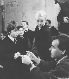 Behind the scenes of The Sorcerer's Stone.
