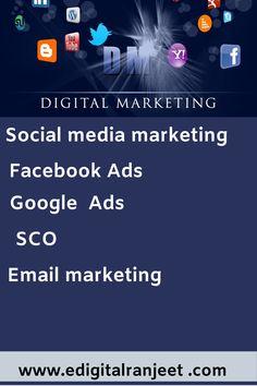 Digitalranjeet provided digitalservices. Digital Marketing, Ads, Website