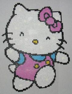 Hello Kitty perler beads by Avil