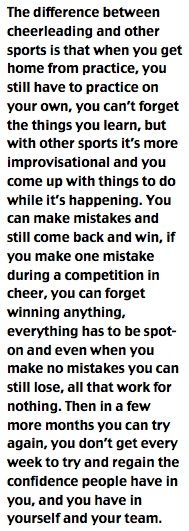 Cheer true that cheerleading in a sport