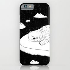 Polar bears need some good beds to sleep.Please save energy and help protect the North Pole. #illustration #doodle #art #drawing #pen #bnw #blackandwhite #bw #mono #society6 #s6 #help #sos #save #polarbear #phone #iphone #iphone5 #iphone5s #iphone6 #iphone6plus #case