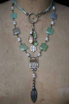 Art jewelry with a touch of the Divine. Something Sublime, handmade boho jewelry from metalsmith and jewelry artist Deryn Mentock.