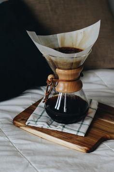 Tea, Coffee, and Books Chemex Coffee, Coffee Cafe, Coffee Shop, Latte, Coffee Presentation, Pour Over Coffee Maker, Fresh Roasted Coffee, Coffee Photography, Coffee Is Life