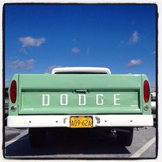 In 1968, the Dodge Adventurer pickup replaced the Custom Sports Special. Among the Adventurer's features: additional exterior color options like Turf Green. #classiccar #classic #instacar #vintage #vintagecar #antique #amazingcars247 #carpics #cargramm #caroftheday #classiccars #carsofinstagram #carswithoutlimits #photooftheday #liveclassics #BetterInAClassic #dodge #adventurer #pickup #truck #mopar