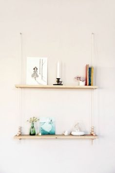 DIY Swing shelf, by Tête d'ange Really want to make one of these!