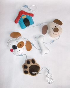 1001 Felt: Puppies everywhere ...