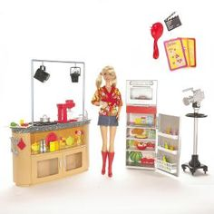 Photo Gallery - Famous Toy Patents: 2008 Barbie Doll as a TV Chef