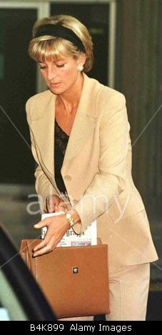 June 23, 1997: Diana, Princess of Wales in New York City for the Christies' Auction.