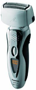 Panasonic ES8103S Men's 3-Blade (Arc 3) Wet/Dry Rechargeable Electric Shaver with Nanotech Blades, Silver