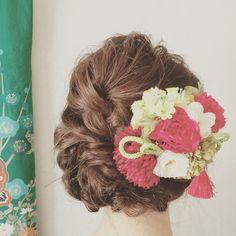 まよったらこれ!和装花嫁さんにおすすめの、基本の『和風髪型』の種類まとめ* | marry[マリー]