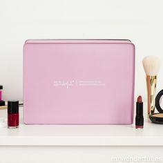 Caja metálica wonder - La belleza está en el interior #box #pink #mrwonderful
