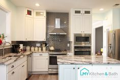 Beautiful Kitchen Features Wire Brushed Oak Cabinets