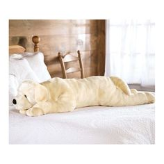 Super Soft Labrador Body Pillow With Realistic Features, Yellow - Plow & Hearth, Yellow Lab Large Pillows, Decorative Throw Pillows, Baby Doll Nursery, Always Kiss Me Goodnight, Floor Pillows, Body Pillows, Plush Animals, Stuffed Animals, Tutorial