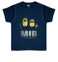Camiseta infantil Minions in Black #minions #camisetas #comic http://www.latostadora.com/emcmasquecamisetas