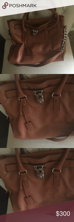 Michael Kors large purse Used several times but in like new condition, buttery soft leather, love this purse but do not use it enough to justify keeping it.  I have dust bag. Michael Kors Bags Totes