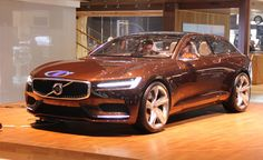 Volvo Concept Estate Proves Wagons can be Sexy. For more, click http://www.autoguide.com/auto-news/2014/03/volvo-concept-estate-proves-wagons-can-be-sexy.html