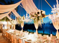 Luxurious Tented Naples Wedding from Anna Lucia Events - MODwedding