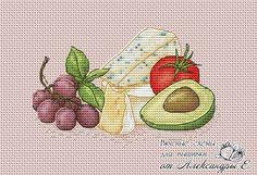 Вкусные схемы для вышивки от Александры Е.