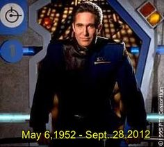Michael O'Hare May 1952 – was an American actor, best known for playing Commander Jeffrey Sinclair in the science fiction television series Babylon Fantasy Films, Sci Fi Fantasy, Sci Fi Shows, Tv Shows, Best Sci Fi Series, Sinclair, Babylon 5, And So It Begins