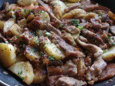 ''dalla cucina di Jo'': Gröstl, ovvero 'padella tirolese di carne, patate e cipolle'