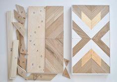 Alpine - Wood Wall Art DIY Kit