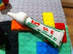 The Lego Movie Cake ~ Fondant Kragle Lego Movie Cake, Lego Movie Party, Lego Birthday Party, 5th Birthday, Birthday Cakes, Birthday Ideas, Fancy Cakes, Cute Cakes, Anna Cake