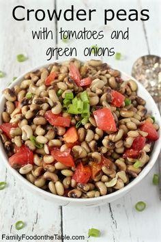 Crowder peas wit...Crowder Peas Recipe Cook
