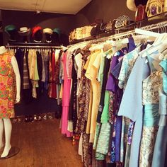 We had a cheeky look in 'Those Were The Days' this morning before flyering... So many beautiful 60s dresses! #vintage #shop #thoseweretyedays #60s #stockbridgeedinburgh #stockbridge #edinburgh #scotland @twtdvintage