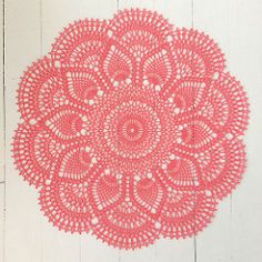 Published in Doilies, Doilies, Doilies, Star Doily Book No. 87, by American…