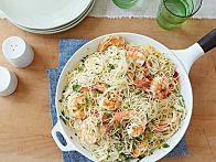 Gina's Shrimp Scampi with Angel Hair Pasta Recipe
