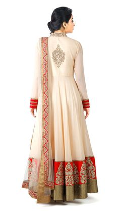 Jiva Couture is the online boutique store for Indian designer dresses. Kurta Patterns, Designer Blouse Patterns, Designer Dresses, Indian Outfits Modern, Indian Wedding Outfits, Anarkali Lehenga, Anarkali Dress, Bridal Dresses Online, Indian Gowns Dresses